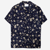 Kestin Hare - Crammond Vacation Shirt - Navy Floral