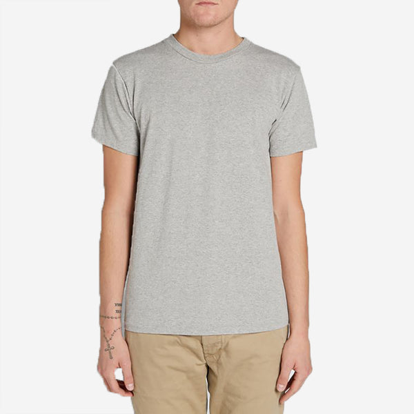 Velva Sheen - Plain Tee - 2 Pac - Heather Grey