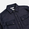Crosscut Western Fleece Knit - Selvedge Indigo