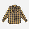 3Sixteen - Crosscut Flannel Shirt - Yellow Plaid