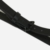 Apogee Goods - Daily 11oz Leather Belt - Black/Black