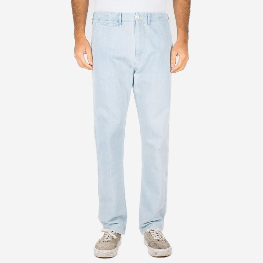 Portuguese Flannel - Denim Trousers - Light Blue