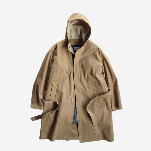 STILL BY HAND - Detachable Lined Coat - Beige