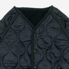 Dobby/Quilting Reversible Jacket - Indigo/Navy