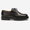 Dormance Leather Derby Shoes - Black