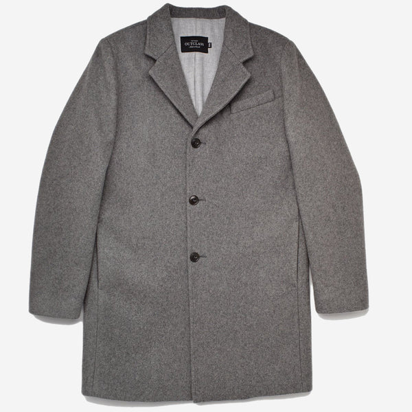 Wool Driving Coat - Grey
