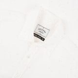 Portuguese Flannel - Ebano Short-Sleeve Shirt - White Fleck