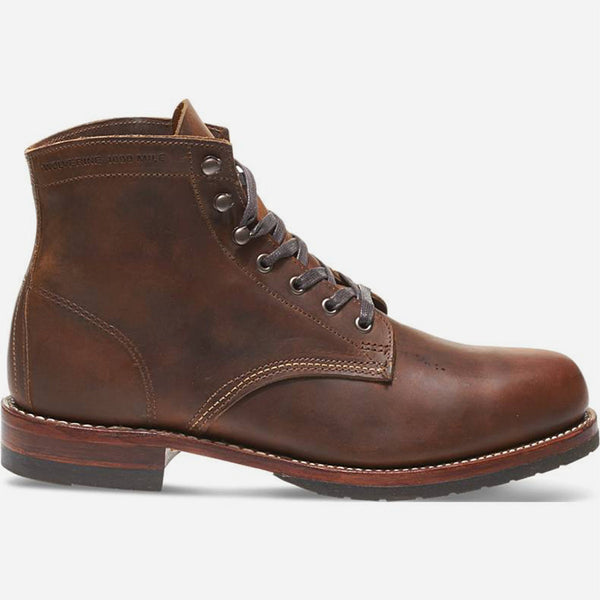 Wolverine 1000 Mile - Evans Leather Boot - Brown