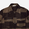 3Sixteen - Fatigue Overshirt - Brown Buffalo Check