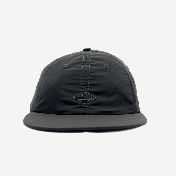 Battenwear - Field 6-Panel Cap - Black Nylon