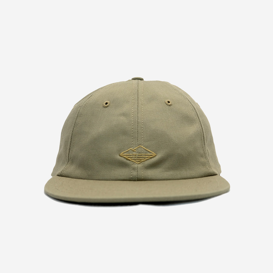 Battenwear - Field 6-Panel Cap - Khaki Twill