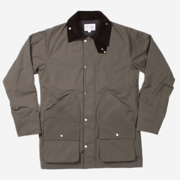 STILL BY HAND - Field Jacket - Olive