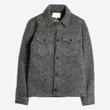 Kestin Hare - Field Overshirt Jacket - Charcoal Wool