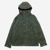 Fisherman Parka - Wool Lined Waxed Dark Green