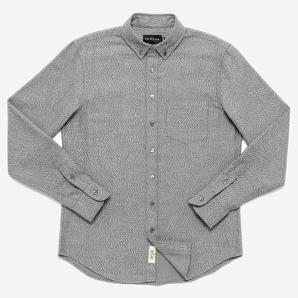 Outclass Attire - Flannel Shirt - Heather Grey