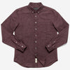 Outclass Attire - Flannel Shirt - Merlot