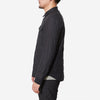 Flexible Insulated Shirt Jacket - Black