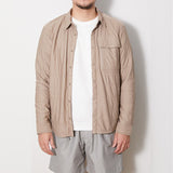 Snow Peak - Flexible Insulated Shirt Jacket - Beige