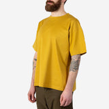 Kestin Hare - Fly Crew Neck Jersey T-Shirt - Orange Whisky