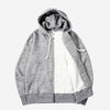 GG Full-Zip Sweatshirt Parka - Charcoal