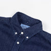 Portuguese Flannel - Ganga 1 Wash (1W) Denim Shirt - Dark Blue