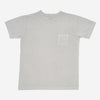 3Sixteen - Garment Dyed Heavyweight Pocket T-Shirt - Ash