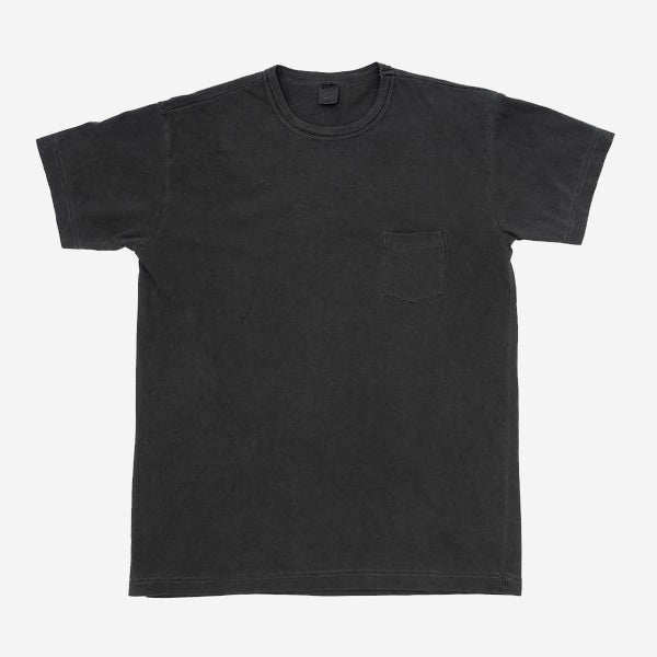 3Sixteen - Garment Dyed Heavyweight Pocket T-Shirt - Smoke