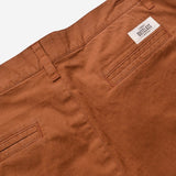 Outclass Attire - Garment Dyed Stretch Shorts - Terracotta