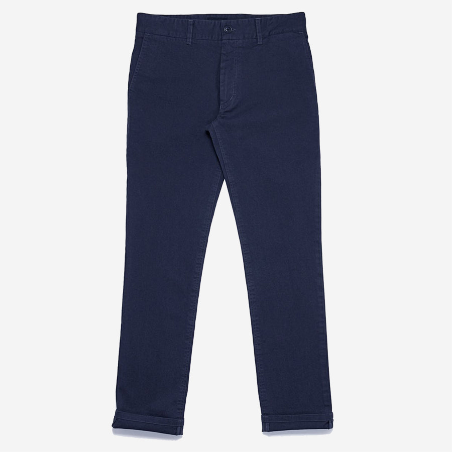 Outclass Attire - Garment Dyed Chinos - Navy