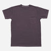 3Sixteen - Garment Dyed Heavyweight Pocket T-Shirt - Purple