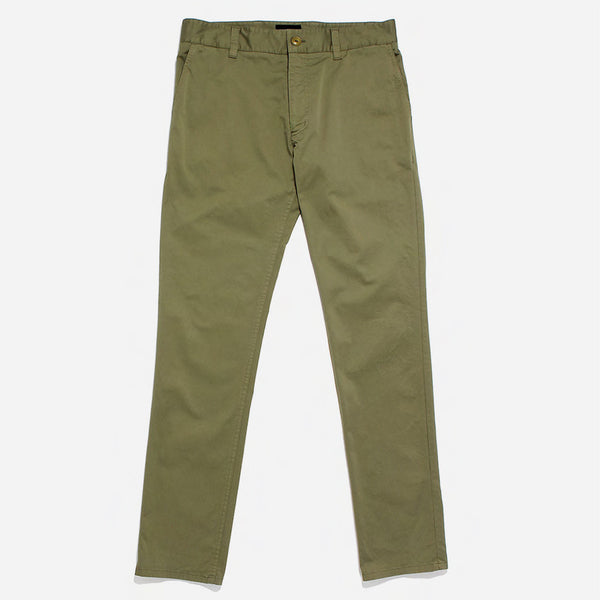 Outclass Attire - Garment Washed Chino - Olive