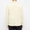 Albam - GD Cord Pocket Overshirt - Ecru