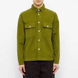 Albam - Gd Cord Pocket Overshirt - Fir Olive