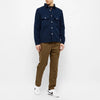 Albam - Gd Cord Pocket Overshirt - Navy