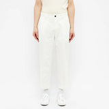 Albam - GD Ripstop Pleated Trouser - Ecru