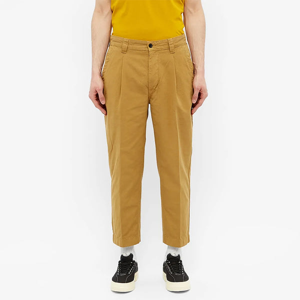 Albam - GD Ripstop Pleated Trouser - Tobacco