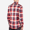 Bon Vivant - Gino Heavyweight Flannel Shirt - Red/White/Blue