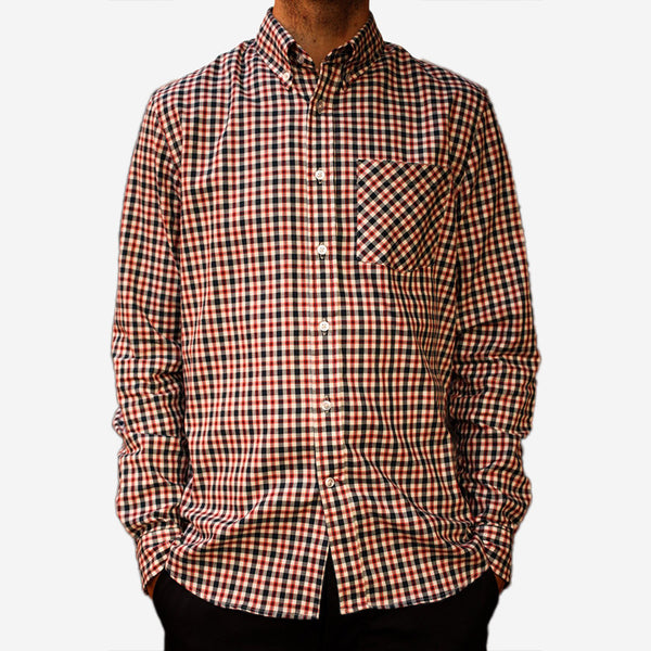 Bon Vivant - Gino Shirt - Classic Plaid - Navy