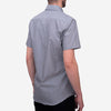 Bon Vivant - Gino Short-Sleeve Shirt - End-on-End Grey