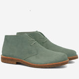 Greenflex Suede Desert Boot - Selva Wood Green
