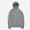 STILL BY HAND - Half-Zip Sweater Parka - Grey