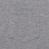 3Sixteen - Heavyweight Pocket T-Shirt - Heather Grey