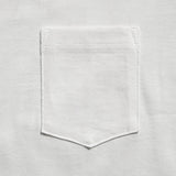 3Sixteen - Long Sleeve Heavyweight Pocket T-Shirt - White