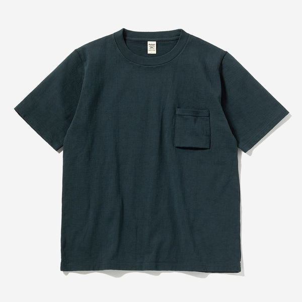 High-Density Dotsume S/S Pocket T-Shirt - Slate Ivy