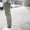 Garment Washed Chino - Olive