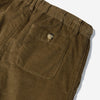 Kestin Hare - Inverness Corduroy Short - Olive Green