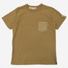 Battenwear - Jersey/Broadcloth Pocket T-Shirt - Mocha
