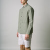Armadale Shirt Jacket - Light Olive Cotton/Nylon