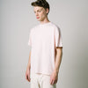 Fly Crew Neck Jersey T-Shirt - Dusty Pink