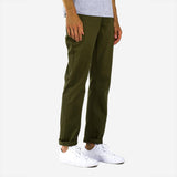 Keenan Heavyweight Relaxed Chino - Olive Green